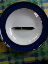 Denby imperial blue large pasta salad fruit bowl rare piece