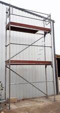 Original Layher Alu Gerüst Rollgerüst Fahrgerüst 6,20 m Arbeitshöhe