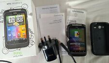 HTC Wildfire S - Black (Unlocked) Smartphone Excellent Condition Sim Free boxed