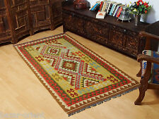 205x106 cm orient Teppich Afghan Turkmen Nomaden Planzenfarbe kelim kilim No:27