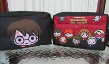 Harry Potter Characters Cosmetic Toiletry Bag Case Chibi Primark NWT!
