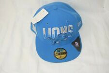 Detroit Lions official Hat Cap Football NFL Blue 59Fifty 7 3/4 61.5cm New Era