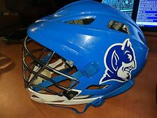 Duke Blue Devils University Lacrosse Profile Logo Cascade Blue Pro-Fit Helmet(M)