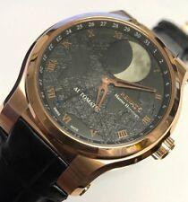 New Renato Martin Braun Patented Moonphase Automatic True Moon Movement Watch