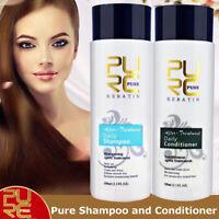 PURC Daily Shampoo & Conditioner Keratin Repair Hair Treatment Smoothing Kit