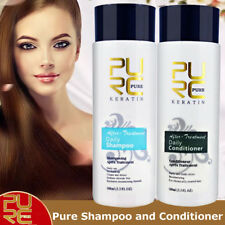 PURC Daily Shampoo & Conditioner Keratin Repair Hair Treatment Smoothing Kit