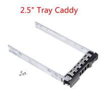 """New dell 2.5"""" G176J G281D KG7NR SATA SAS tray caddy R720 R710 R610 R720xd 8FK CO"""