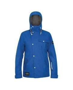 Dakine Baring Shell Snowboard Jacket Men's Large Deep Blue New