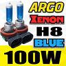 2 pièces H8 8500K Glace Bleu 12V 100W 35w Xénon Phare halogène ampoule lampe