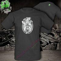 T-Shirt Chopper Biker America Outlaw Harley Davidson Skull Bones Bobber Motorrad