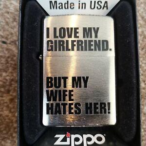 Zippos lighters Genuine Girlfriend Wife Lighter