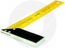 12 inches 30cm Construction Carpenter Ruler L Shape 90 Angle Square Steel Ruler