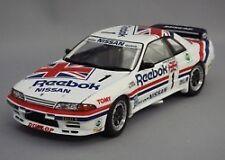 Tomica Ebbro 1:24 Reebok Nissan Skyline R32 1990 Gr.A JTC #1 from Japan