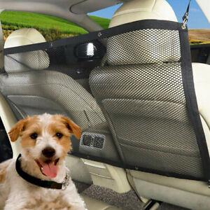 Car Dog Pet Barrier Guard /Storage Back Seat Safety Protector Mesh Net Fence