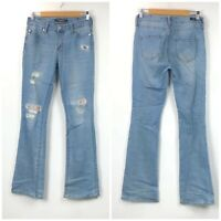 Stitch Fix Liverpool 2 26 Womens Patchwork Isabell Skinny Bootcut Denim Jeans
