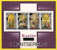 Timbres Religion Paques Montserrat BF10 ** lot 24949