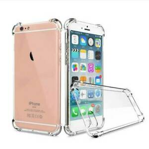New 360° CLEAR TPU Case Armar Shockproof Full Protector Back Cover For i phone 7