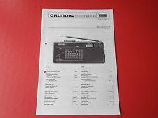 Grundig Cosmopolit orig. Service Anleitung Manual