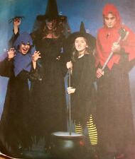 VINTAGE CUT 2001 'MC CALL'S' WITCHES & REAPER  COSTUME 3334 7-16