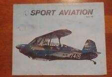 Sport Aviation Magazine August 1969 Retractable Gear Stardustwr too N-741S