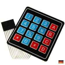 5 Tasten Matrix Array 1x5 Folientastatur Tastatur Bedienfeld 40 4 G4