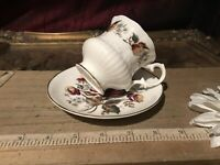 Royal Sutherland Fine Bone China Made In England Cup & Saucer Multi Floral