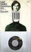DAVE DAVIES Imaginations Real /Wild Man (nonLP song) 45 with PicSleeve THE KINKS