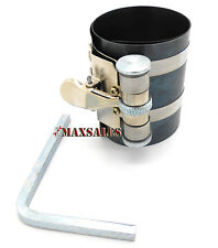 """Piston Ring Compressor Ratchet Style Fits Small Size 2-1/8"""" - 53mm - 125mm"""