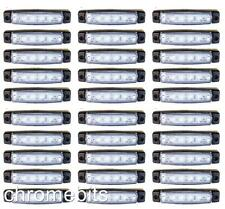 X30 Blanco 24v 6 LED Lateral Trasero Marcador INTERMITENTES LUCES Volvo Daf Man
