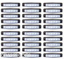 120 piezas 24v led frontal blanco claro Intermitente Lateral Bombilla Camión