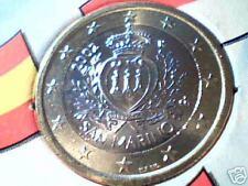 moneta da 1 euro 2002 San Marino san marin saint marin