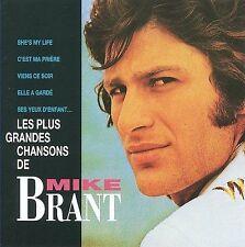 MIKE BRANT - LES PLUS GRANDES CHANSONS (NEW CD)