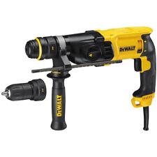 DeWalt D25134K SDS-Plus Rotary Hammer Drill + Q/C Chuck 110v