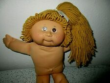 Cabbage Patch💖25th Anniv-Butterscotch Hair-Brown Eyes- No Clothes- 2007 Lot C2