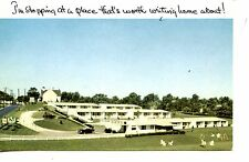 Thoroughbred Motor Court Motel-Winchester-Kentucky-Vintage Advertising Postcard