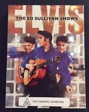 Elvis Presley The Ed Sullivan Shows 3 DVD Boxset N/Mint 2006 Rare Out Of Print