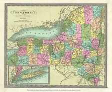 1832 Burr Map of New York