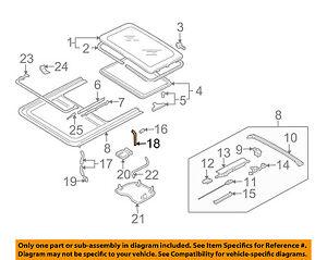 VW VOLKSWAGEN OEM 01-10 Passat Sunroof-Drain Hose 5G0877228