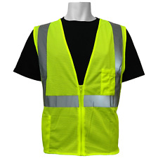 Safety vest class 2 ANSI, Hi visibility, Size: Small, GLO-001-XS, Global Glove