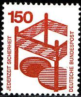 703 A postfrisch BRD Bund Deutschland Briefmarke Jahrgang 1971