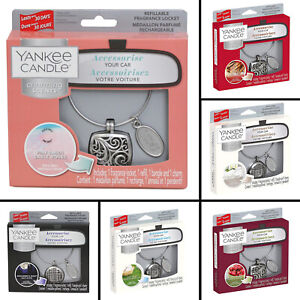 Yankee Candle Charming Scents Car Air Freshener Aroma Locket Car Fragrance Scent
