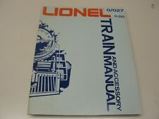 1975 LIONEL 0/027 TRAIN & ACCESSORY MANUAL ~ 33 PAGES