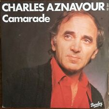 "Charles Aznavour - Camarade - Vinyl 7"" 45T (Single)"