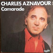 "Charles Aznavour - Camarade - Vinyl 7"" 45T (Single)"