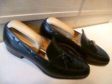 Ralph Lauren by Edward Green tassel loafer UK 8.5 9 42.5 43 full leather slip on