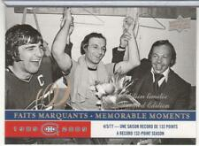 GUY LAFLEUR 2008-09 UPPER DECK CENTENNIAL LIMITED EDITION 295 MONTREAL CANADIENS