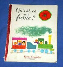 Alain Grée / Qu'est-ce qui fume ? / Gentil coquelicot Hachette