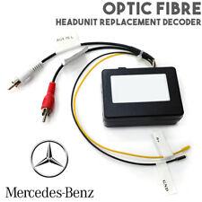 OPTIQUE Fibre autoradio stereo remplacement Interface pour Mercedes CLS S E SL