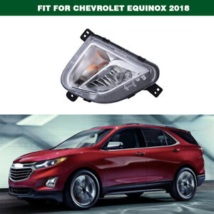 Replacement Front Fog Light Bumper Lamp Right For Chevrolet Equinox 2018-2020