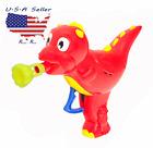 Plastic baby Dragon / Dinasaur Bubble Gun; Childrens' Toy, for Birthday Presents